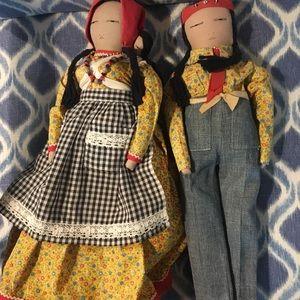 Vintage American Indian Doll Dolls